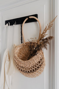 Wall basket 'Emilou' natural