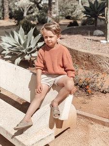 Cordero knit terracotta