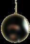 Ronde spiegel goud (groot)